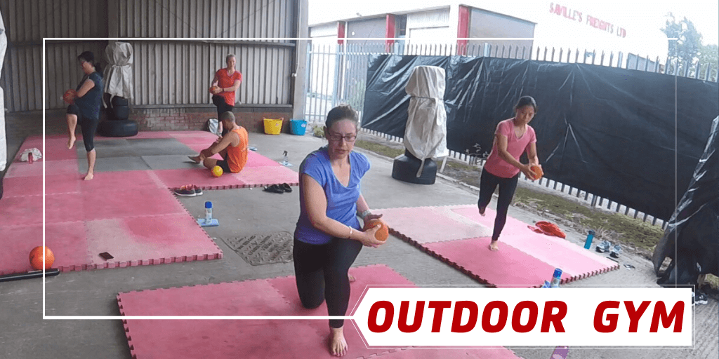 Pay-as-you-train OPEN-AIR GYM